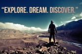 Explore, Dream, Discover